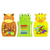Väggpanel Animal Fun 3-pack